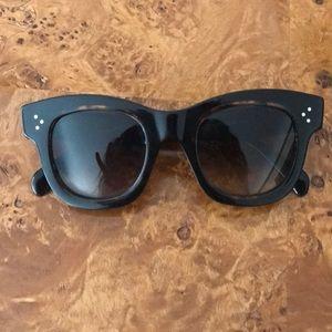 Celine sunglasses with original case included